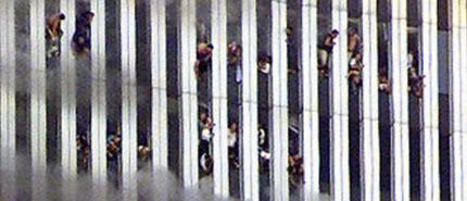 Znalezione obrazy dla zapytania people jumping from wtc