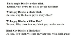 This is why white people will never win the racism argument.